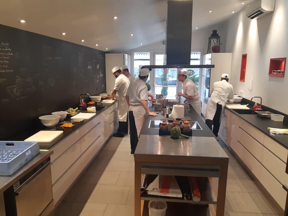 L Ecole Culinaire Formation Cqp Commis De Cuisine A Bordeaux